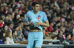 March 16, 2019 - Bilbao, Vizcaya, Spain - Gimenez of Atletico de Madrid in action during La Liga Spanish championship, , football match between Athletic de Bilbao and Atletico de Madrid, March 16th, in Nuevo San Mames Stadium in Bilbao, Spain. (Credit Image: © AFP7 via ZUMA Wire)