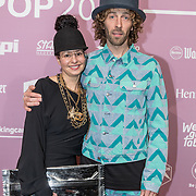 NLD/Amsterdam/20180213 - Edison Pop Awards 2018, Frank de Ruwe en .......
