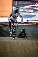 #77 (SAKAKIBARA Kai) AUS at Round 5 of the 2019 UCI BMX Supercross World Cup in Saint-Quentin-En-Yvelines, France