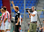23-08-2008 VOETBAL:WILLEM II:RAYO VALLECANO:TILBURG<br /> De cameramensen en media van Eredivisie LIVE gebruikte de wedstrijd ook als laatste oefenwedstrijd voor de competitie begint<br /> Foto: Geert van Erven