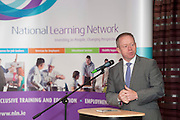 Minister of State for Training & Skills at the department of Education and Science Ciaran Cannon TD at the National Learning Network, Galway Certification Ceremony at the Menlo Park Hotel. Photo:Andrew Downes.]