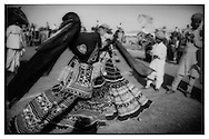 Swirling Tribal dancers, Rajasthan.
