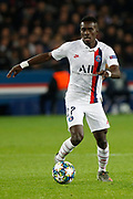 Idrissa Gueye of PSG in action during the UEFA Champions League, Group A football match between Paris Saint-Germain and Club Brugge on November 6, 2019 at Parc des Princes stadium in Paris, France - Photo Mehdi Taamallah / ProSportsImages / DPPI