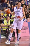Laura Macchi<br /> EuroBasket Women 2017 Qualifying Round<br /> Italia - Gran Bretagna<br /> Lucca, 19/11/2016<br /> Foto Ciamillo - Castoria