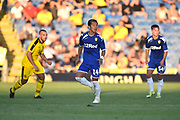 Yosuke Ideguchi (14) of Leeds United during the Pre-Season Friendly match between Oxford United and Leeds United at the Kassam Stadium, Oxford, England on 24 July 2018. Picture by Graham Hunt.