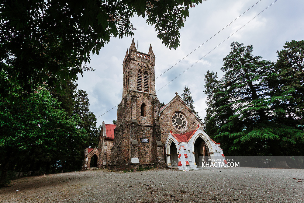 St. John's Chuch in Himalayan Hill Station of Nainital, Uttarakhand, India