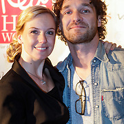NLD/Amsterdam/20121129- Uitreiking Red's Hot Women Awards 2012, Jessica Villerius en partner Javier Guzman