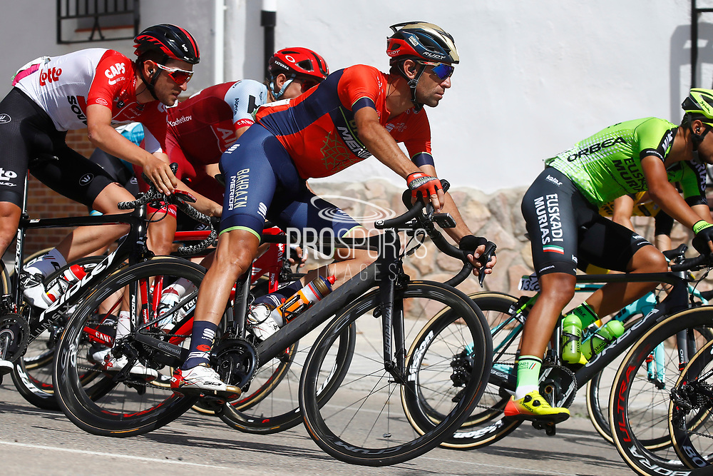 Vincenzo Nibali (ITA - Bahrain - Merida), during the UCI World Tour, Tour of Spain (Vuelta) 2018, Stage 7, Puerto Lumbreras - Pozo Alcon 185,7 km in Spain, on August 31th, 2018 - Photo Luca Bettini / BettiniPhoto / ProSportsImages / DPPI