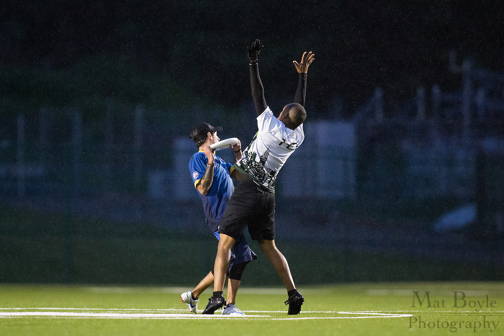 NJ Hammerheads vs New York Empire in an American Ultimate Disc League match at Mercer County College in West Windsor Township, NJ on Saturday May 18, 2013. (photo / Mat Boyle)