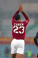 Roma 18/1/2004<br />Roma Sampdoria 3-1<br />John Carew (Roma) festeggia il gol del pareggio<br />John Carew celebrates goal of 1-1<br />Foto Andrea Staccioli Graffiti