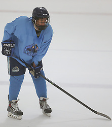 Marlborough, MA, USA - July 19, 2014: Images from Day 2 of the USPHL showcase at the New England Sports Center.