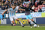 Sheffield Wednesday midfielder, on loan from Everton, Aidan McGeady (37)  during the Sky Bet Championship match between Huddersfield Town and Sheffield Wednesday at the John Smiths Stadium, Huddersfield, England on 2 April 2016. Photo by Simon Davies.