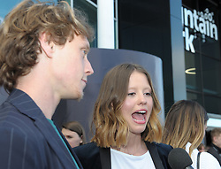 Edinburgh International Film Festival, Thursday, 21st June 2018<br /> <br /> THE SECRET OF MARROWBONE (UK PREMIERE)<br /> <br /> Pictured: George MacKay and Mia Goth <br /> <br /> (c) Aimee Todd | Edinburgh Elite media