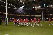 Cardiff, WALES. Biarritz warm up before the   2006 Heineken Cup Final,  Millennium Stadium,  between Biarritz Olympique and Munster,  20.05.2006. © Peter Spurrier/Intersport-images.com,  / Mobile +44 [0] 7973 819 551 / email images@intersport-images.com.   [Mandatory Credit, Peter Spurier/ Intersport Images].14.05.2006   [Mandatory Credit, Peter Spurier/ Intersport Images].