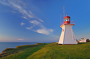 Richibucto Head (Cap Lumière) Lighthouse in Northumberland Strait <br />Cap Lumiere<br />New Brunswick<br />Canada