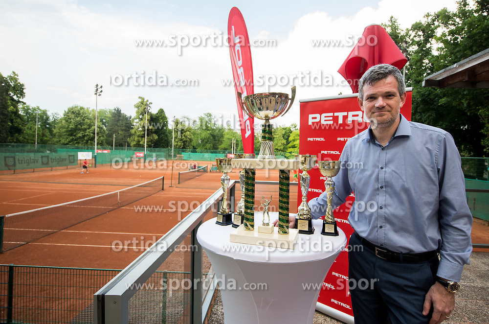 Tomaz Berlocnik at Petrol VIP tournament 2018, on May 24, 2018 in Sports park Tivoli, Ljubljana, Slovenia. Photo by Vid Ponikvar / Sportida