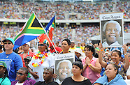 "11 Dec Neslon Mandela ""A Life Celebrated"" concert CT Stadium"