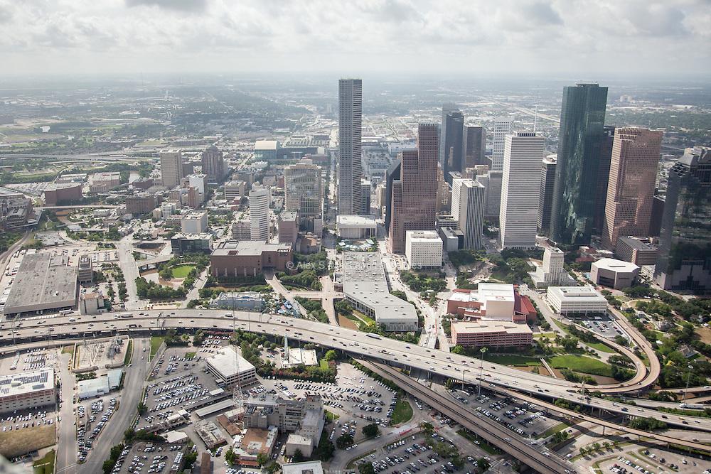Interstate 45 near downtown Houston