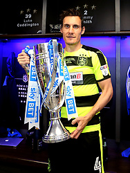 Free to use courtesy of Sky Bet - Dean Whitehead of Huddersfield Town celebrates winning the Sky Bet Championship Playoff Final and promotion to the Premier League - Mandatory by-line: Robbie Stephenson/JMP - 29/05/2017 - FOOTBALL - Wembley Stadium - London, England - Huddersfield Town v Reading - Sky Bet Championship Play-off Final
