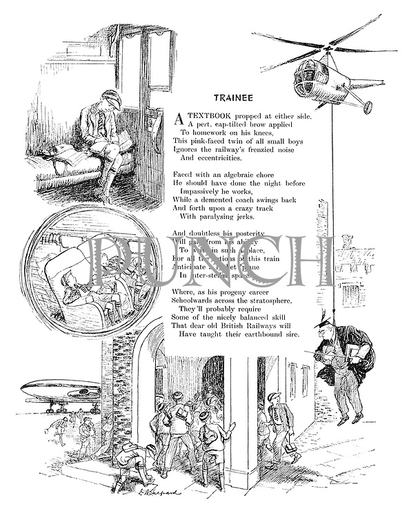 Trainee (illustrated poem).
