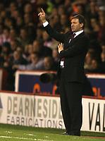 Photo: Paul Greenwood.<br />Sheffield United v Cardiff City. Coca Cola Championship. 02/10/2007.<br />Sheffield United manager Bryan Robson