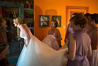 Arizona wedding — Brielle Schaffer and Michael Jamros