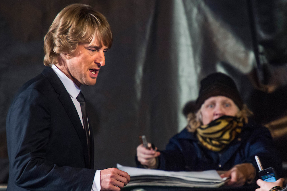 Owen Wilson signs autographs at the disabled pen - Paramount Pictures Presents A 'Fashionable' Screening of Zoolander No.2  - the sequel directed by and starring Ben Stiller.