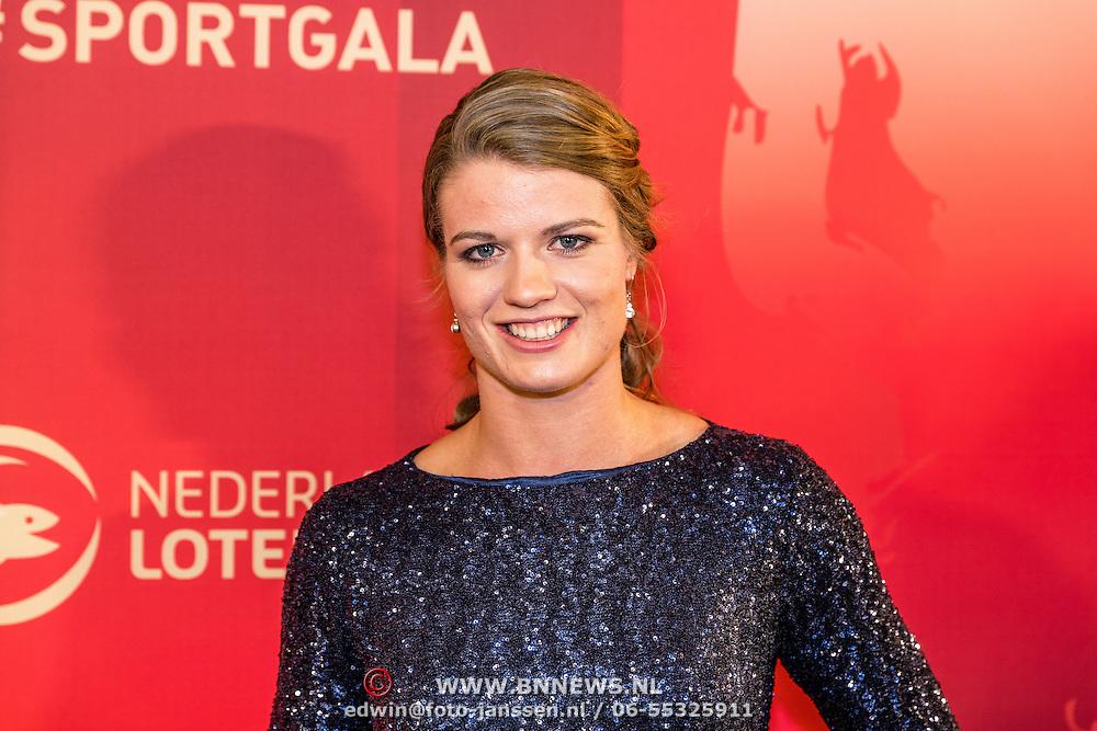 NLD/Amsterdam/20161221 - NOC*NSF Sportgala 2016, Dafne Schippers