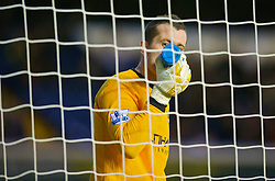 BIRMINGHAM, ENGLAND - Sunday, November 1, 2009: Manchester City's goalkeeper Shay Given in action against Birmingham City during the Premiership match at St Andrews. (Pic by David Rawcliffe/Propaganda)