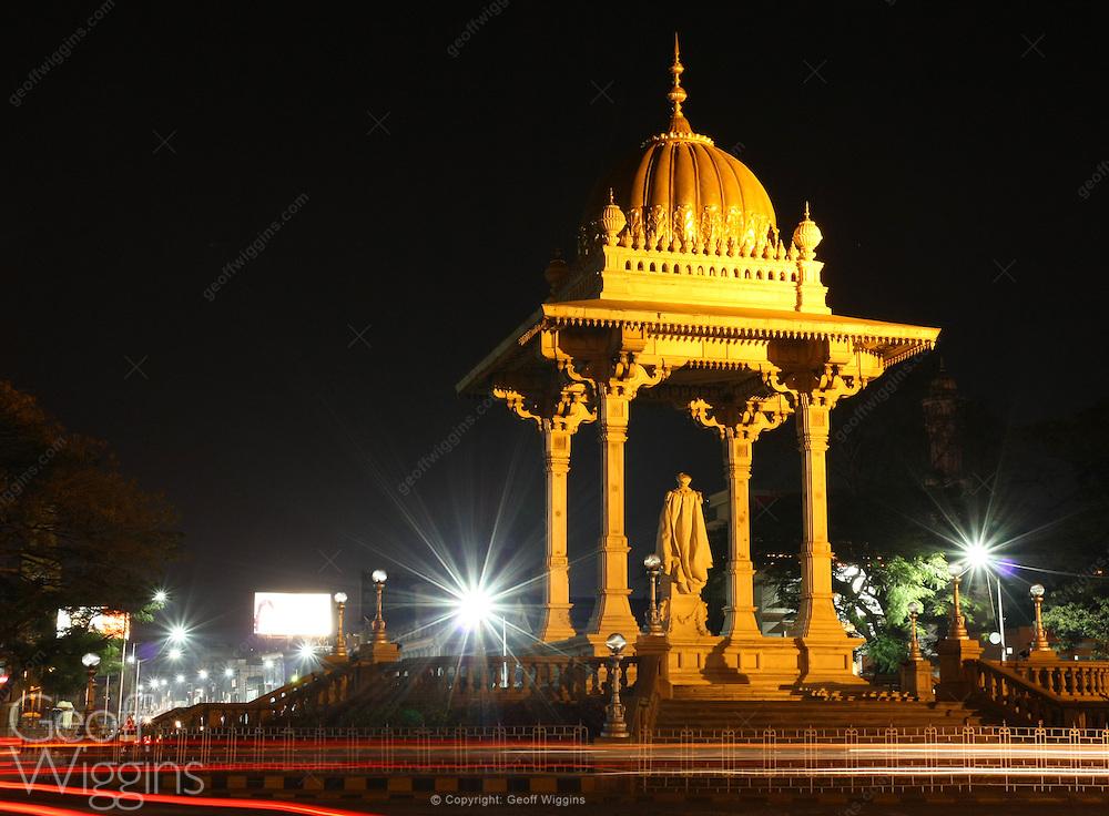Statue of the Maharaja Krishnaraja Wodeyar, Mysore