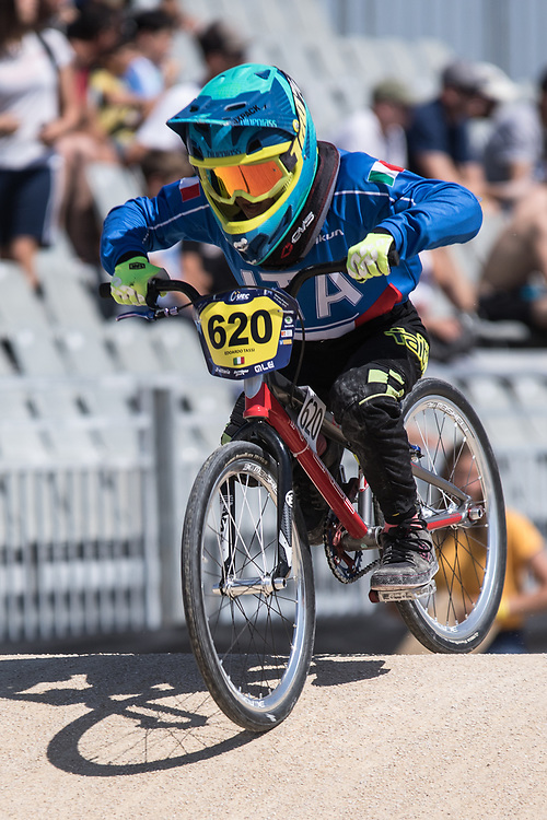 2018 UEC European Championships<br /> Sarrians, France<br /> Training<br /> #620 ITA