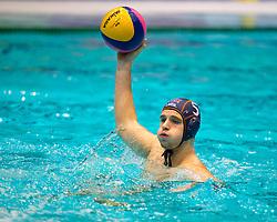 21-01-2012 WATERPOLO: EC NETHERLANDS - TURKEY: EINDHOVEN<br /> European Championships Netherlands - Turkey / Luuk Gielen<br /> (c)2012-FotoHoogendoorn.nl / Peter Schalk