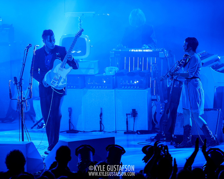 COLUMBIA, MD - September 14th, 2014 - Jack White performs at Merriweather Post Pavilion in Columbia, MD. White's career-spanning 20+ song set drew from his work with The White Stripes, The Dead Weather and The Raconteurs as well as his two solo albums.  (Photo by Kyle Gustafson / For The Washington Post)