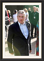 ROBERT DE NIRO Hyde Park London June 2008.Large 30x20 inch Museum-quality Archival signed Framed Print (Limited Edition of 25)