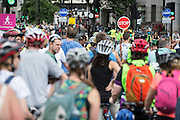 Prudential RideLondon a festival of cycling, with more than 95,000 cyclists, including some of the world's top professionals, participating in five separate events over the weekend of 1-2 August.