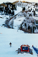 Andy Gregg apres ski on Ajax Mountain in Aspen, CO, 1987.
