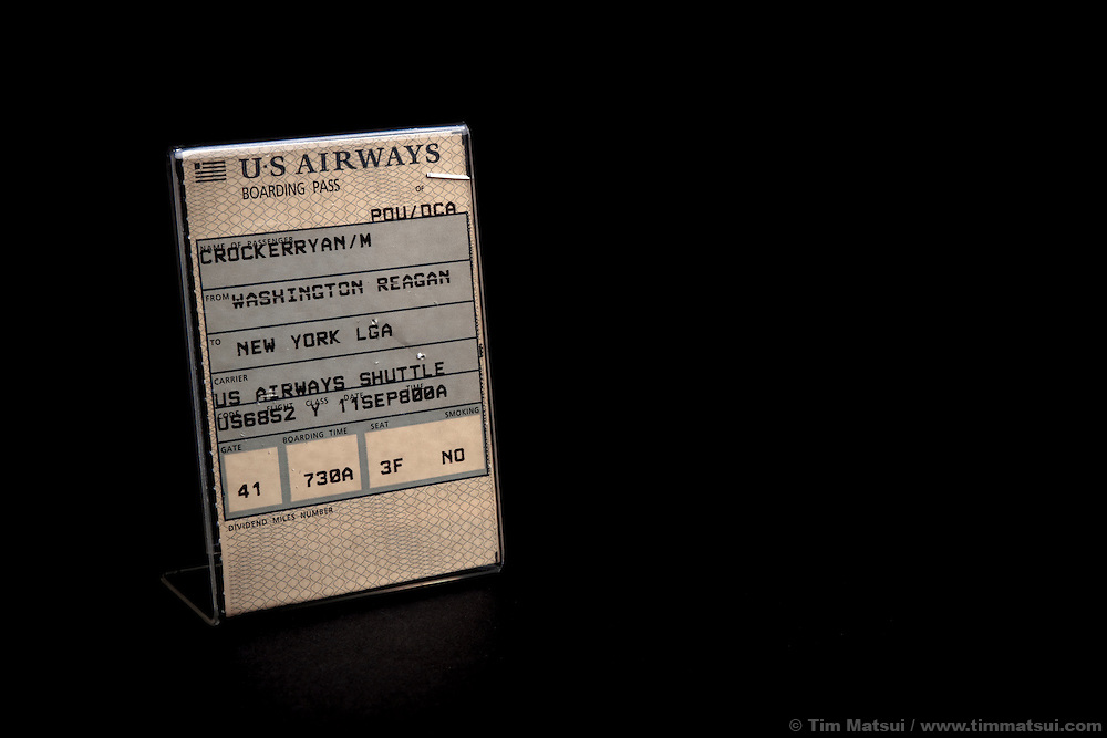 Memoribilia of US Ambassador Ryan Crocker at his home in Spokane, Washington.