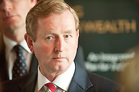 31/07/2012. REPRO FREE FIRST USE.  The Taoiseach Enda Kenny, TD,launched a Government plan to double the value of Ireland's ocean wealth to 2.4% of GDP by 2030 and increase the turnover from our ocean economy to exceed ?6.4bn by 2020. The report, 'Harnessing Our Ocean Wealth - An Integrated Marine Plan for Ireland' was launched at the Marine Institute, Galway. Picture :Andrew Downes...