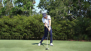 Cameron Smith<br /> Face on swing sequence<br /> 2018<br /> <br /> Golf Pictures by Mark Newcombe/visionsingolf.com