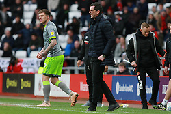 March 16, 2019 - Sunderland, Tyne and Wear, United Kingdom - Sunderland manager Jack Ross shows irritation during the Sky Bet League 1 match between Sunderland and Walsall at the Stadium Of Light, Sunderland on Saturday 16th March 2019. (Credit: Steven Hadlow | MI News) (Credit Image: © Mi News/NurPhoto via ZUMA Press)