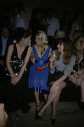 MARIA GRACHVOGEL, HOLLY WILLOUGHBY AND ANN-SOFIE-BACK, Oli fashion launch. Haymarket Hotel. London. 4 July 2007.  -DO NOT ARCHIVE-© Copyright Photograph by Dafydd Jones. 248 Clapham Rd. London SW9 0PZ. Tel 0207 820 0771. www.dafjones.com.