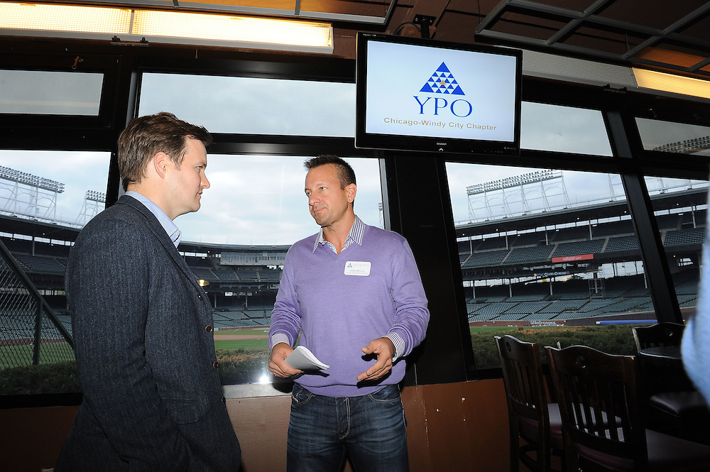 YPO sponsorship event at Wrigley Field on Oct. 24, 2013