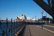 A walk to the Opera House, Sydney