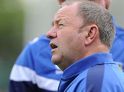 Yeovil Town Manager, Gary Johnson - Photo mandatory by-line: Joe Meredith/JMP - Mobile: 07966 386802 19/07/2014 - SPORT - FOOTBALL - Yeovil - Huish Park - Yeovil Town v Reading