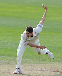 New Zealand's Jacob Duffy. Photo mandatory by-line: Harry Trump/JMP - Mobile: 07966 386802 - 10/05/15 - SPORT - CRICKET - Somerset v New Zealand - Day 3- The County Ground, Taunton, England.