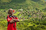 Tui Talili and his village Navala in the Ba Highlands of Viti Levu island, Fiji.