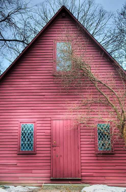 Historic Puritan Home in Salem, Massachusetts