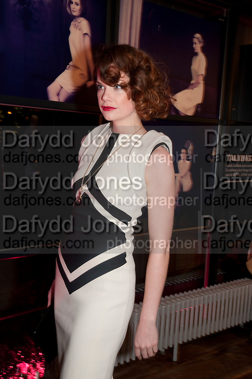 RUTH WILSON, InStyle Best Of British Talent , Shoreditch House, Ebor Street, London, E1 6AW, 26 January 2011