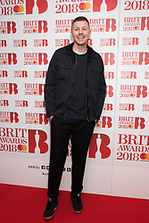 EDITORIAL USE ONLY XXXX Professor Green attending the Brit Awards 2018 Nominations event held at ITV Studios on Southbank, London. Photo credit should read: David Jensen/EMPICS Entertainment