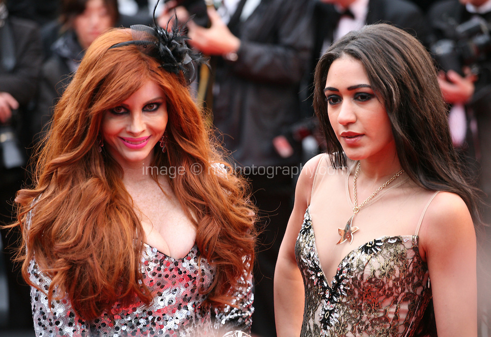 Phoebe Price and Josephine Jobert at the red carpet for the gala screening of Jimmy P. Psychotherapy of a Plains Indian film at the Cannes Film Festival 18th May 2013